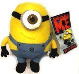 #Primainfanzia #7: Despicable Me Cattivissimo Me Deluxe da 25cm della peluche figura giocattolo Minion Stewart