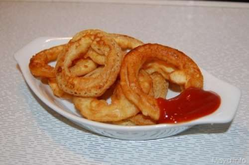 inglesi ricette Onion rings