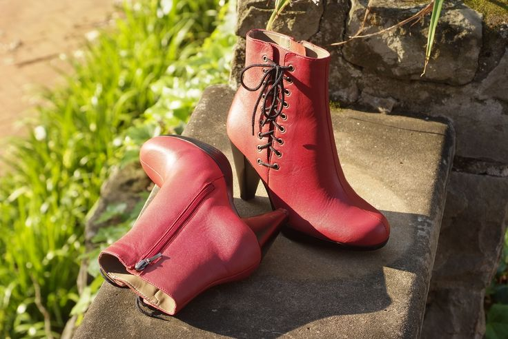 Froggie Shoes | Red boot alert. We love the new season because we get to dress up and showcase our amazing range of boots. This is just one of many!