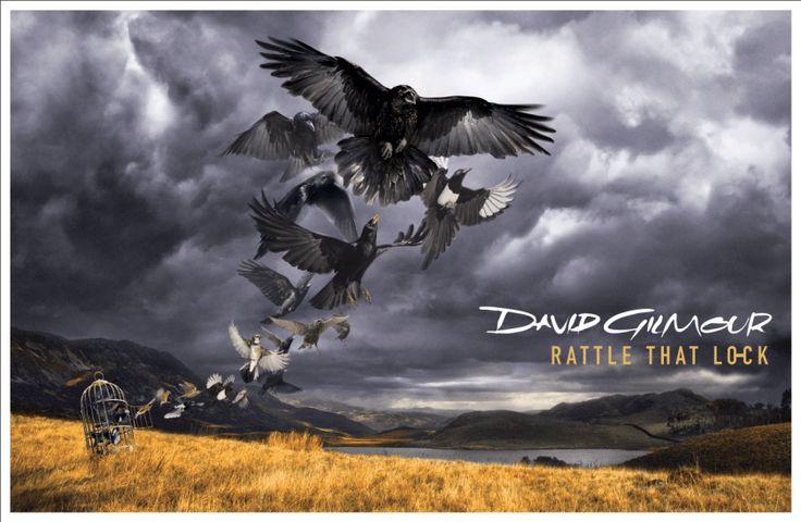 Portada de 'Rattle That Lock' –  de David Gilmour. Es también vocalista, guitarrista, multi-instrumentalista y compositor principal junto a Roger Waters de la banda británica de rock progresivo Pink Floyd