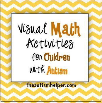visual math activities for children with autism fine motor focus on and math. Black Bedroom Furniture Sets. Home Design Ideas