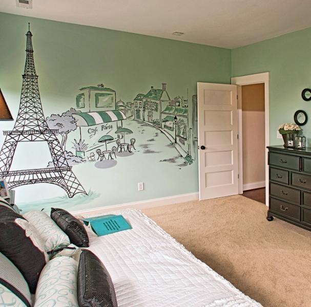 paris wall mural paris pink bedroom pinterest