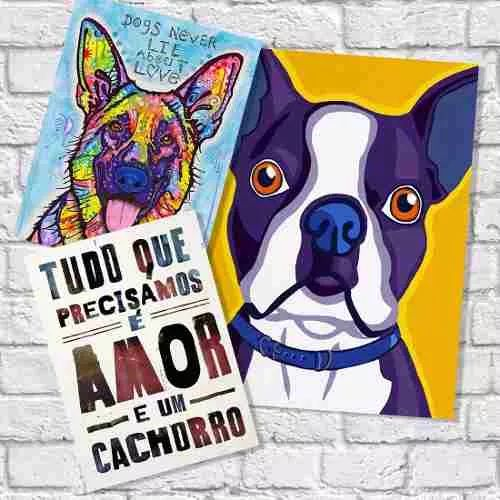 placas decorativas animais de estimação apaixonantes!