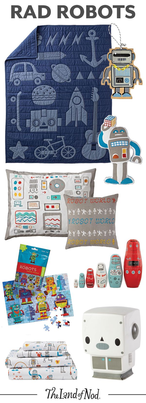 Best 25 robot bedroom ideas on pinterest - Essentials for a boys bedroom ...