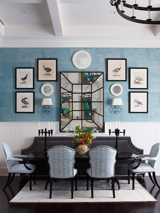 Traditional dining rooms artworks bird prints and birds for Traditional dining room wall art