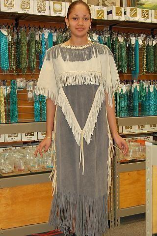 Image detail for -1617-SHIRT Native American Clothing Indian Artifact Buckskin ...