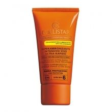 Collistar Intensive Ultra-Rapid Supertanning Face Treatment Zonnecreme 50 ml