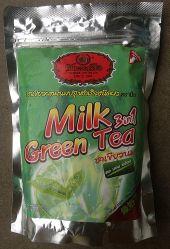 ЧАЙ ТАЙСКИЙ МОЛОЧНЫЙ ЗЕЛЕНЫЙ РАСТВОРИМЫЙ - NUMBER ONE BRAND - MILK GREEN TEA 3 in 1 - 500 ГР. ТАИЛАНД.