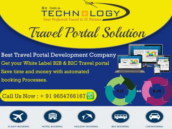 Get Travel Portals with attractive designs and with all features at cheapest rates. more detail visit now http://www.travelportalsolution.com