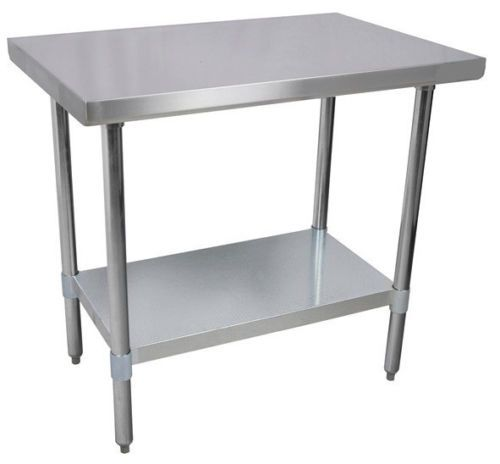 24-x-60-Commercial-Kitchen-Stainless-Steel-Work-Prep-Table-NSF