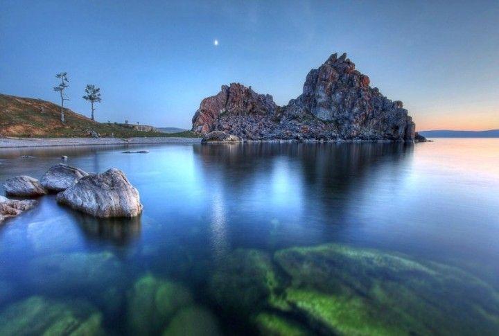 Baikalsee ist der tiefste See in Russland