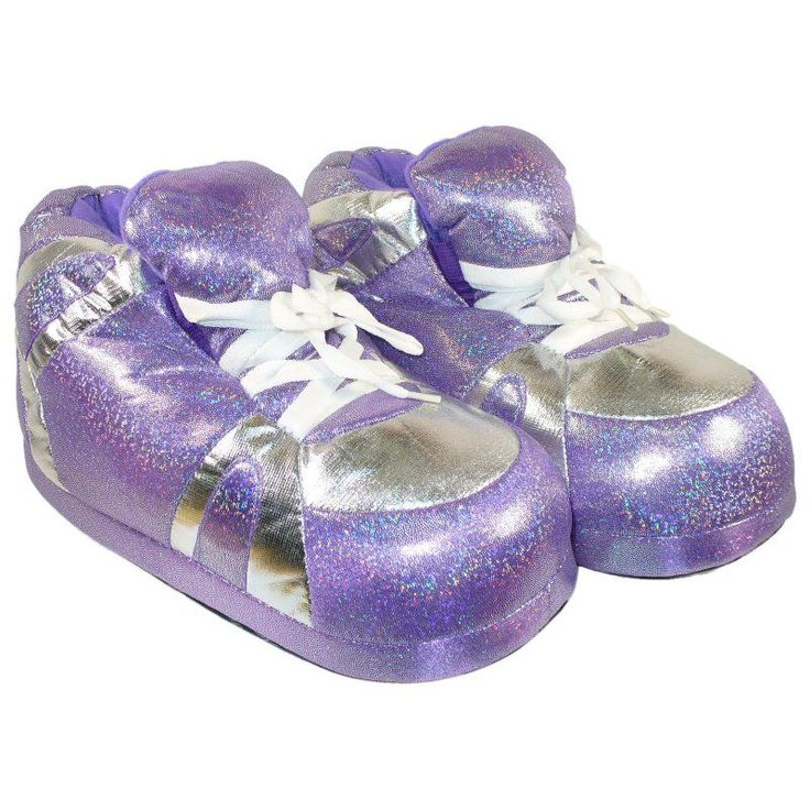 Comfy Feet Snooki's Neon Purple Slippers, Size: Womens X-Large (10 - 11.5) - 1096-4
