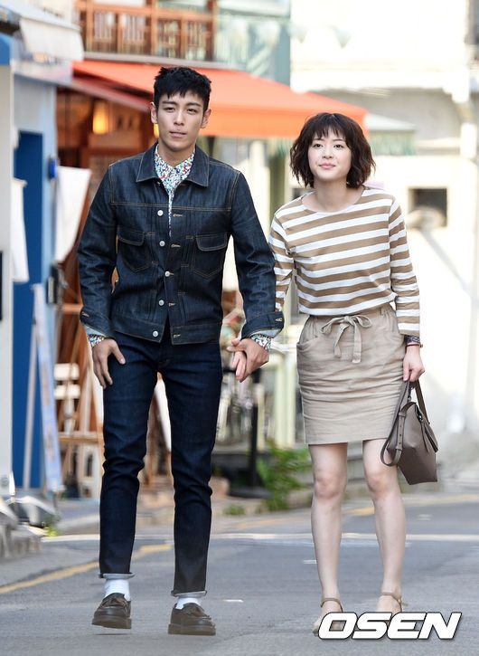 TOP and Ueno Juri Snapped Filming a Cute Drama Date in Seoul | A Koala's Playground