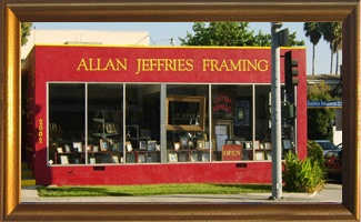 allan jeffries custom framing santa monica