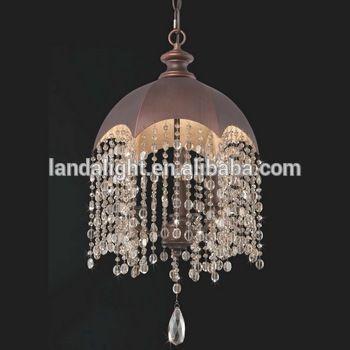 Bronze Modern Fancy Umbrella Shade Pendant Lamp