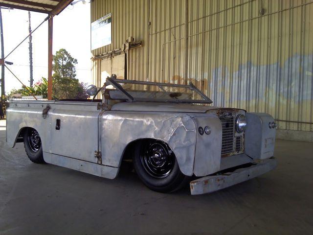 Land Rover Ratrod