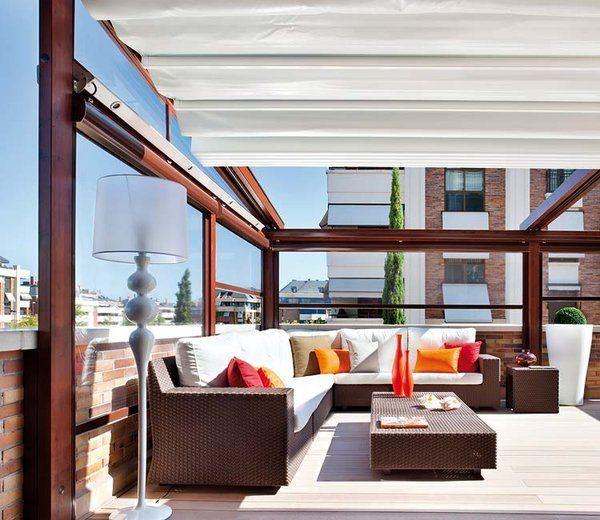 Porches y terrazas: ¿Dentro o fuera? - Mi Casa