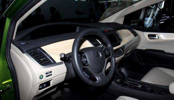 2014 Honda Jade Interior View