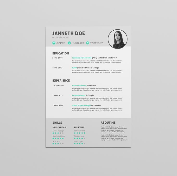 25 best CV design images on Pinterest | Curriculum, Cv design and Cv ...