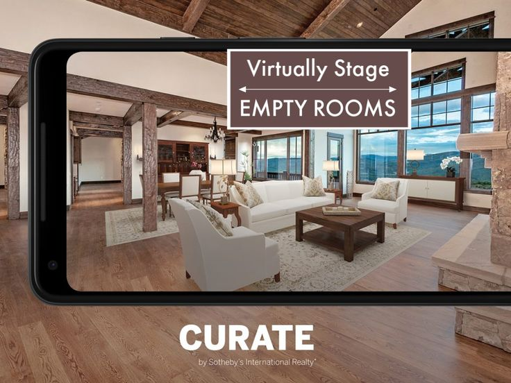 Virtually Stage Any Empty Room Using the Curate App by