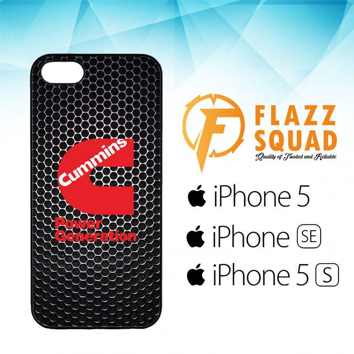 cummins Power Generation logo Z3884 iPhone 5 5S SE Case