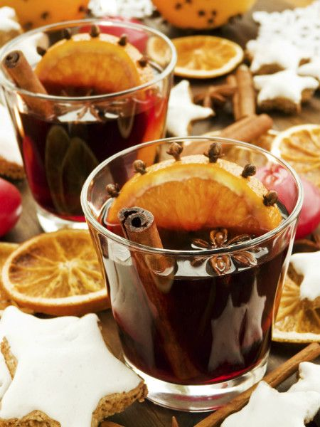 Bebida típica en Navidad en paise del Centro de Europa, ideal para tomar junto a la chimenea.