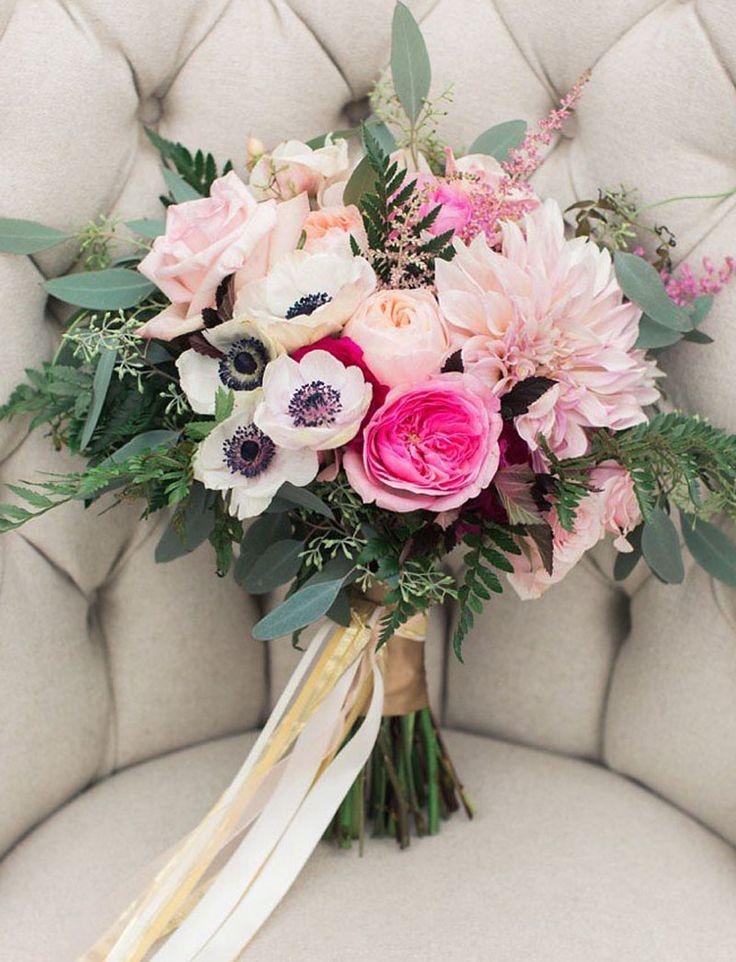 Anémonas: flores en tendencia para tu ramo de novia – Portal de Bodas Zankyou   España
