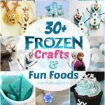 30+ Disney Frozen Crafts  Fun Food Ideas - preschool letter worksheets
