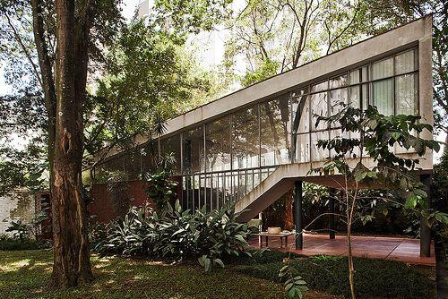 Residência Artigas   São Paulo, Brazil   Architect  João Batista   photo by Pedro Kok