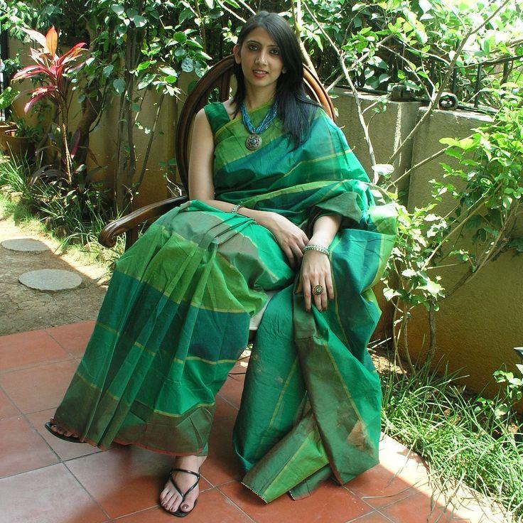 Gorgeous Chanderi Cotton Saree