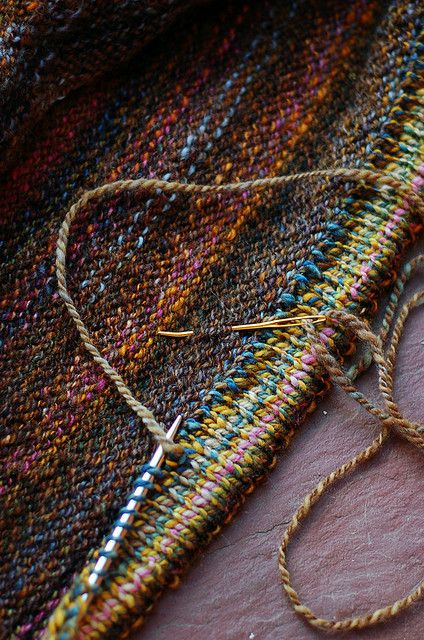 knitted hem.