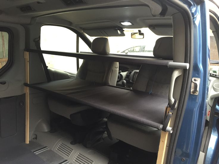 Lit Cabine Double Renault Trafic Generation Camper Van