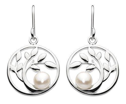 Dew Sterling Silver Puff Heart Drop Earrings lWTD1R6v