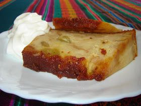 Cucina peruviana in Italia: Budin de pan con uvas blancas