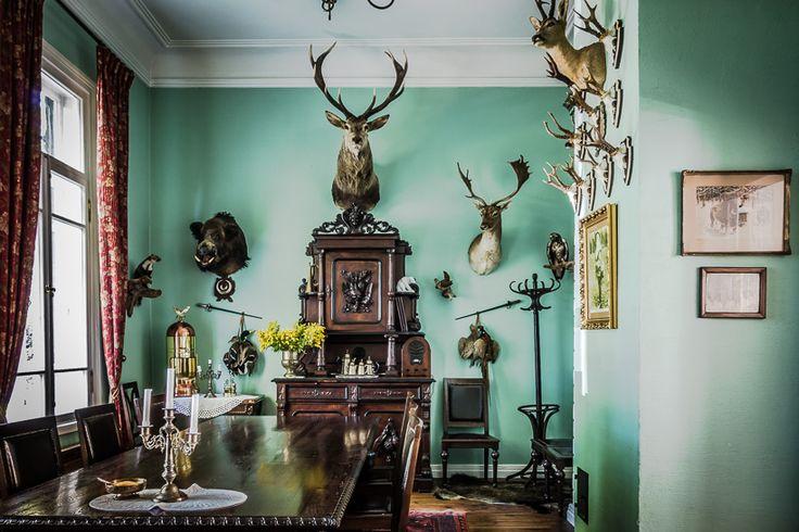 Carska Restaurant Hotel Hunting Room - Poland