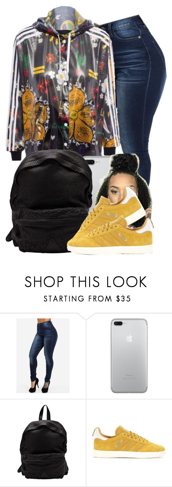 """Swang"" by danimack03 ❤ liked on Polyvore featuring Officine Creative and adidas Originals"