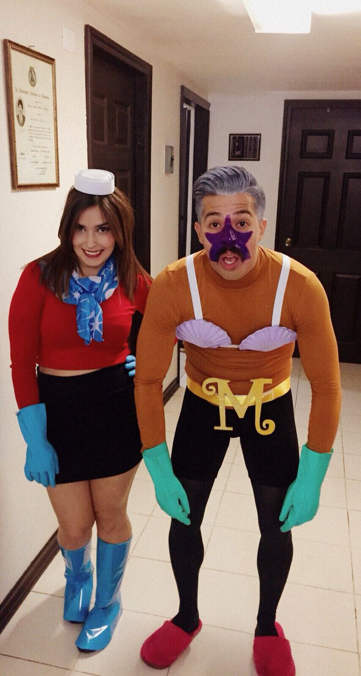 Mermaid Man and Barnacle Boy Costume - Halloween 2015