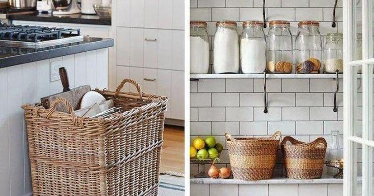 Posibles soluciones para cocinas pequeñas