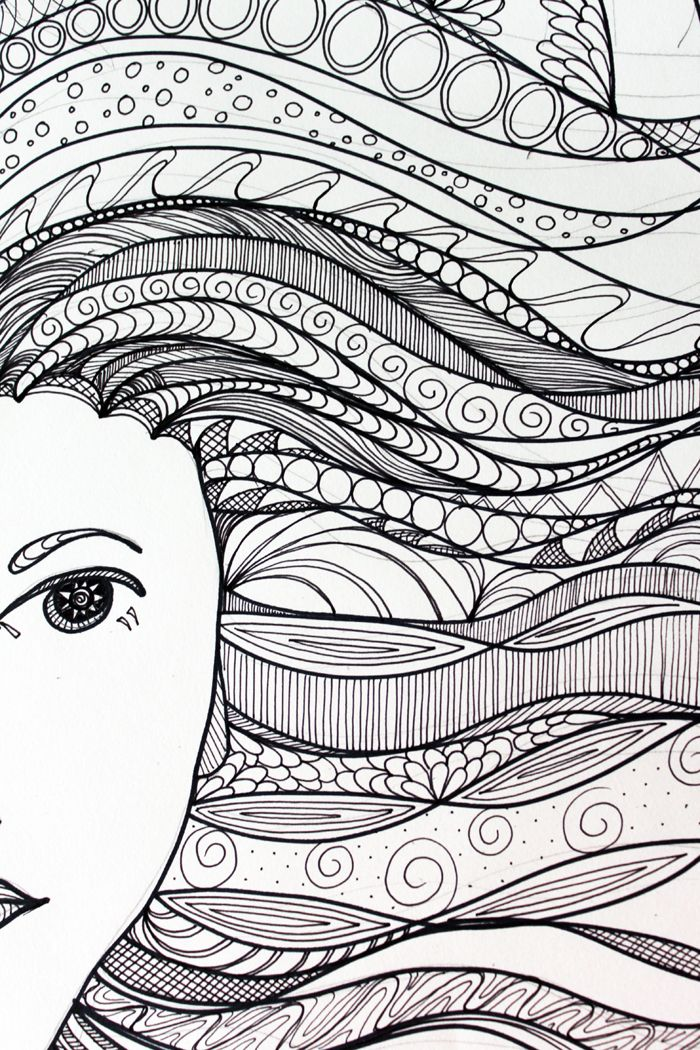zentangles basic beginner patterns zentangle patterns in color once the patterns were in - Color Patterns For Kids