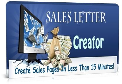 Best Sales Letters Creator - Create Sales Pages In Less Than 15 Minutes!