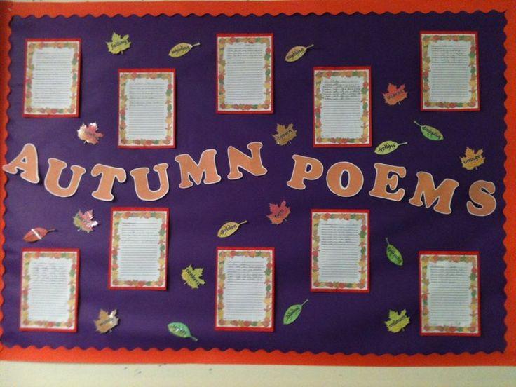 Autumn Poems Display, classroom display, class display, Seasons, weather, Autumn, the seasons, poems, write, Early Years (EYFS),KS1 & KS2 Primary Resources