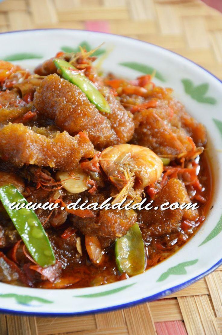 Diah Didi's Kitchen: Sambal Goreng Krecek & Udang