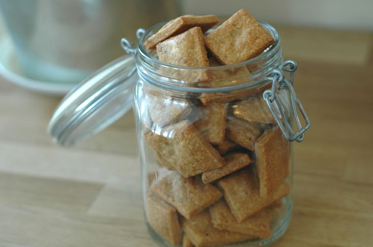 whole wheat cheddar crackers | Cookies and slices | Pinterest