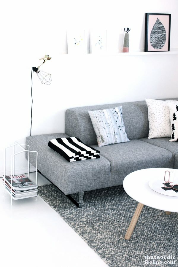 Via That Nordic Feeling | Normann Copenhagen | Grey and White