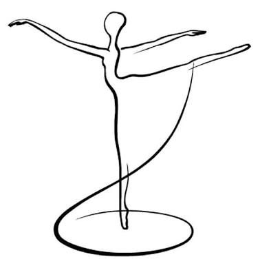 Resultado de imagen para zapatillas de ballet en acuarela