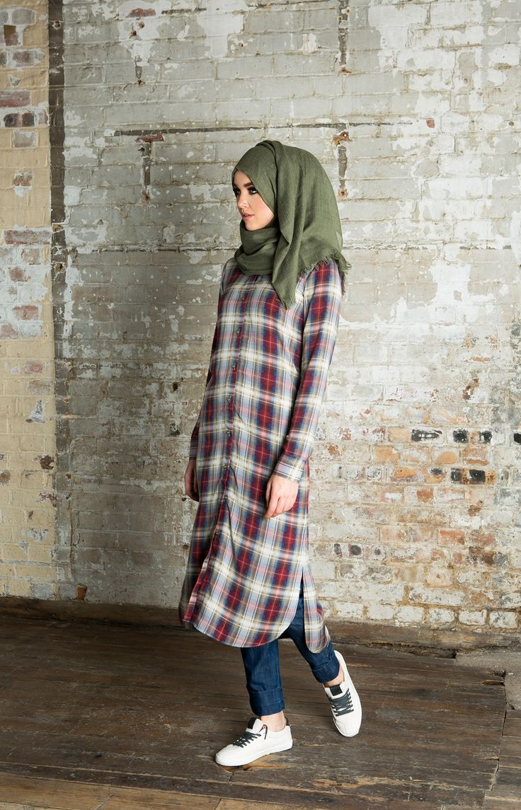 Chequered Shirt Dress | Aab