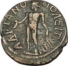 GORDIAN III Hadrianopolis in Thrace RARE Ancient Roman Coin APOLLO Healer i54199