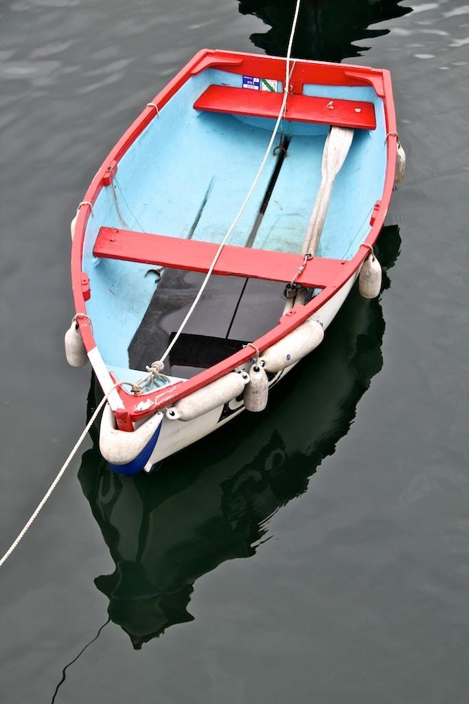 Rowing Boat, Polruan by Fowey
