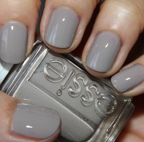 Blue Grey Nail Polish Essie: 25+ Best Ideas About Work Nails On Pinterest