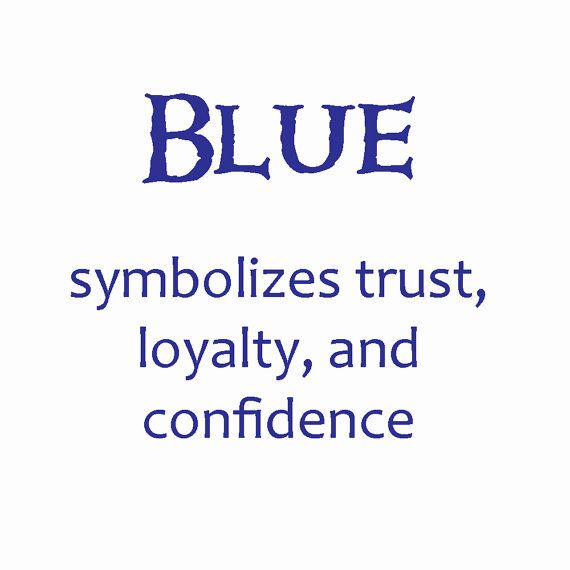 the meaning of the color blue......